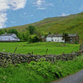 Stone Wall Lake District - P4a16012 by Dean Wittle