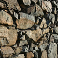 Stone Wall by Mike Bambridge