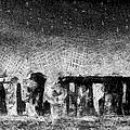 Stonehenge At Dusk by Kiki Art