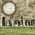 Stonehenge Flyover by Sharon Popek