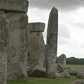 Stonehenge Side Pillars by Mary Mikawoz