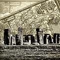 Stonehenge Travel Map by Sharon Popek