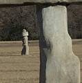 Stonehenge Two Meets Easter Island by Karen Musick
