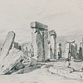 Stonehenge Wiltshire by John Constable
