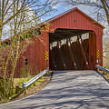 Stonelick Covered Bridge by Jack R Perry