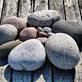 Stones And Old Wood 3  by Jouko Lehto