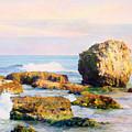 Stones In The Sea by Maya Bukhina
