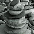 Stones Still Life Monochrome by Jeff Townsend
