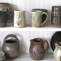 Stoneware Cups by Stephen Hawks