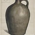 Stoneware Jug by Edgar L. Pearce