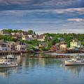 Stonington Harbor by Rick Berk