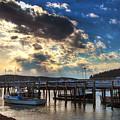 Stonington Lobster Boats by John Meader