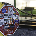 Stop Sign Ala New Orleans, Louisiana by Printed Pixels