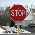Stop Sign by Ben Schumin