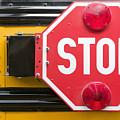 Stop Sign On School Bus by Andersen Ross