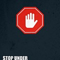 Stop Under Estimating Yourself Corporate Start-up Quotes Poster by Lab No 4