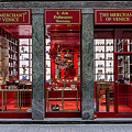 Store Front In Red by Wolfgang Stocker