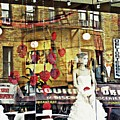 Store Front Wedding by Sarah Loft