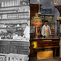 Store - In A General Store 1917 Side By Side by Mike Savad