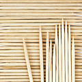 Stored Wooden Toothpicks by Jozef Jankola