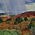 Storm Approaching The Ridge by Beverly Theriault