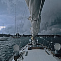 Storm At Put-in-bay by John Harmon