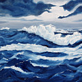 Storm At Sea by Lorraine Foster