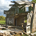 Storm Blown House-1 by Steve Somerville