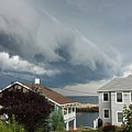 Storm Cloud Over Pigeon Cove by Harriet Harding