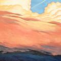 Storm Clouds And Sunsets by Erik Schutzman