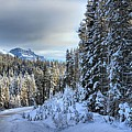 Storm Clouds Over Bow Valley Parkway by Adam Jewell