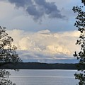 Storm Clouds Over Kentucky Lake by Bobbie Moller