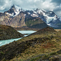 Storm Clouds Over The Cuernos by Stuart Gordon