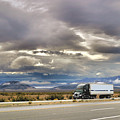 Storm Clouds Over The Highway by Bill Mollet