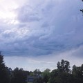 Storm Clouds Passing Through by Debra Lynch