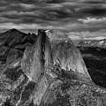 Storm Coming Half Dome by Raymond Salani III