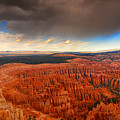 Storm Coming To Bryce National Park by Raymond Salani III