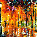Storm Of Emotions - Palette Knife Oil Painting On Canvas By Leonid Afremov by Leonid Afremov
