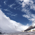 Storm On A Glacier by Stan Roban