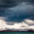 Storm On Karakul Lake by Konstantin Dikovsky