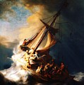 Storm On The Sea Of Galilee by Pg Reproductions