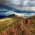 Storm Over Cliffs by David Stevens