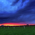 Storm Over Farm Country by Dale Kauzlaric