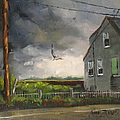 Storm Over Hull Jr by Laura Lee Zanghetti