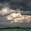 Storm Over Lake Michigan by Terri Morris