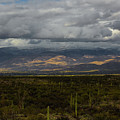 Storm Over The Mountains Of Arizona by Billy Bateman