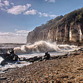 Storm Tide Cliffs End by Dave Godden