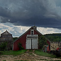 Storm Upon Maple Grove Farm by Nancy Griswold
