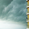 Storm Watchers At Perdido Key Fl by Lizi Beard-Ward