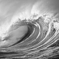Storm Wave - Bw by Ron Dahlquist - Printscapes